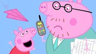 Свинка Пеппа на русском все серии подряд |  Бумажный самолётик| Мультики