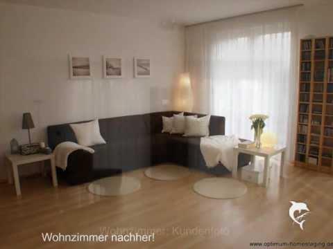 optimum home staging vorher nachher youtube. Black Bedroom Furniture Sets. Home Design Ideas