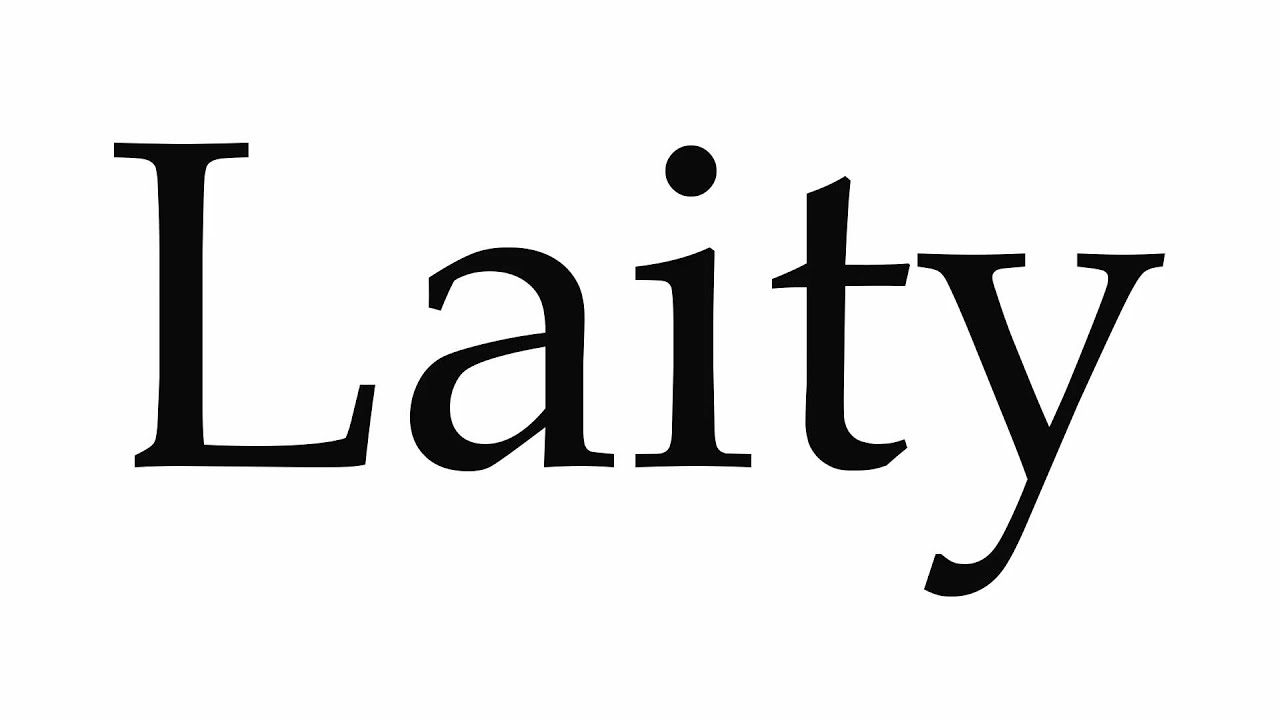 what is a laity The existence of a christian laity was unknown to clement  although  tertullian of carthage distinguished the clergy from the laity, we should note  that.