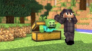 Trolowanie W Minecraft  - Dealereq Robi Pranki!