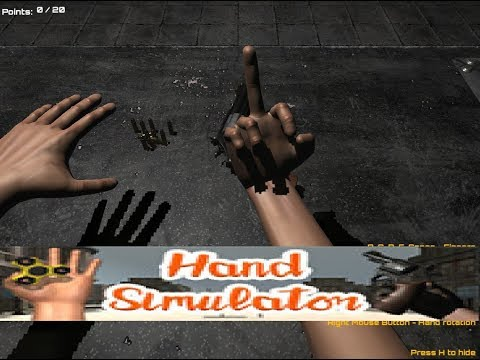 This GAME IS IMPROSSIBLE | Hand Simulator