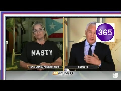 San Juan Mayor Wears Her Nasty Insult To Trump In Univision Interview With Jorge Ramos
