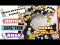 Dekorasi Ultah Anak di Rumah Dekorasi Ulang Tahun Dekor balon Ultah
