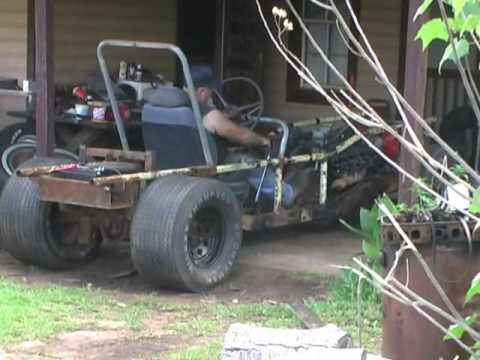 home-made 425 Oldsmobile powered death trap