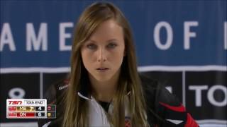 Rachel Homan. Best shots at the 2017 STOH