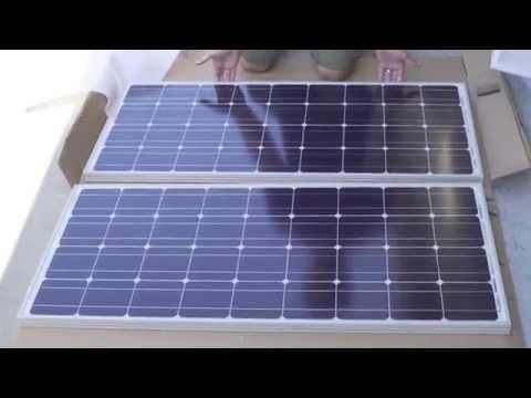 Renogy 100W Monocrystalline Solar Panel Unboxing - Solar Gaming Essentials