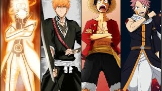 Naruto + One Piece 801 + Bleach 644 + Fairy Tale 453 up to date