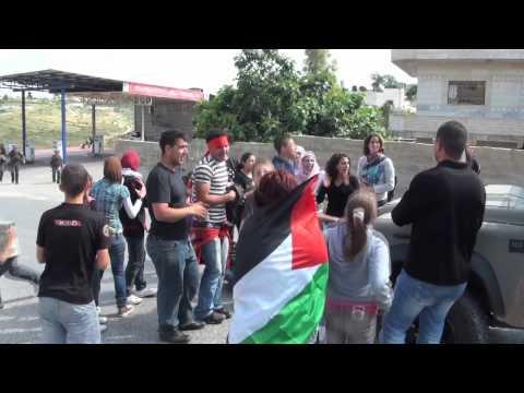 Israeli soldiers throw stun grenades at Palestinian children