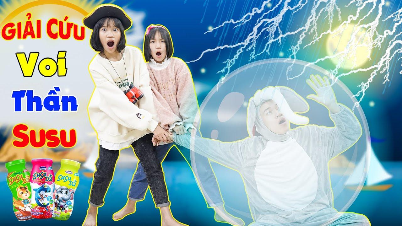 Giải Cứu Voi Thần Susu ♥ Minh Khoa TV