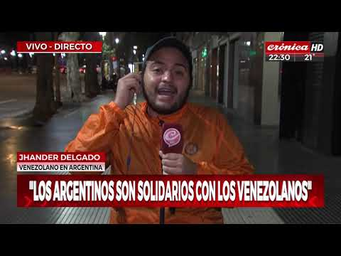 La situación de los venezolanos en Argentina