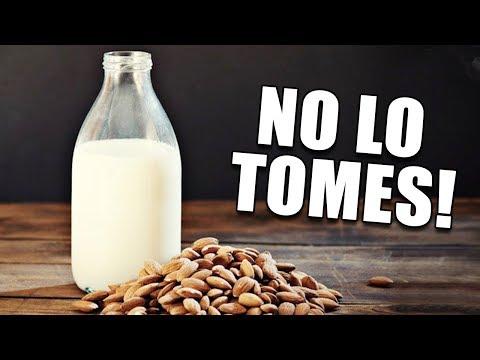 ADVERTENCIA: Deja de Tomar Leche de Almendras!!