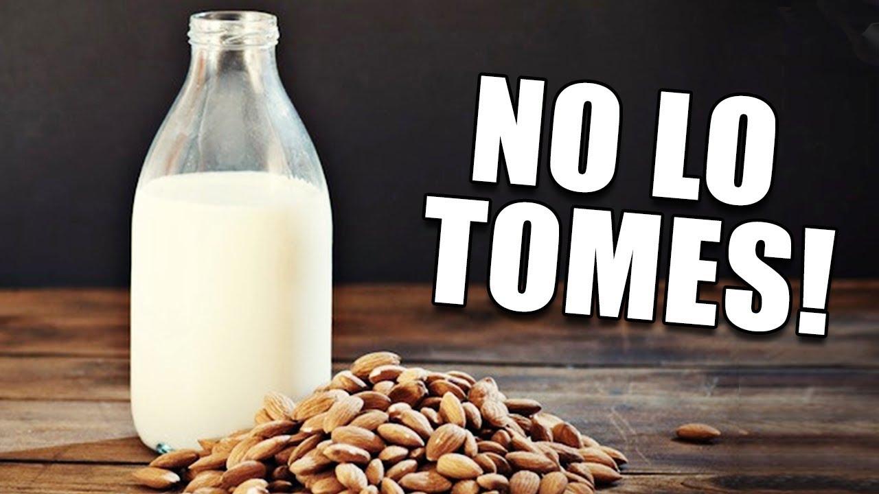 la leche de almendras lastima la próstata