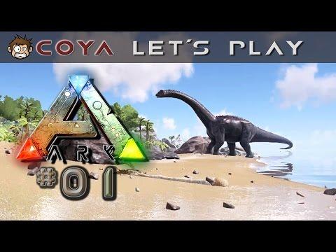 ARK Survival Evolved #01 • Erste Schritte als Dinofutter ARK Deutsch Gameplay German