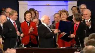 Inauguration of Michael D Higgins as Ninth President of Ireland