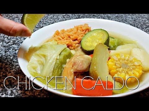 Chicken Caldo Recipe   Mexican Style Chicken Soup   CALDO DE POLLO