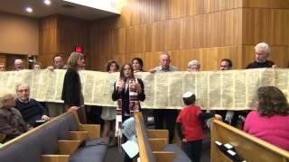 Simchat Torah 2012 at Temple Emanuel, Cherry Hill, NJ