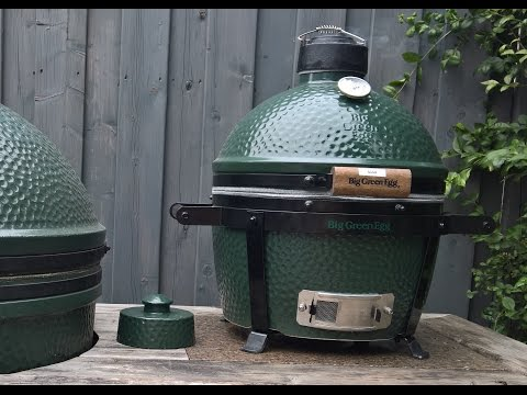 Grilled Chicken on the Big Green Egg Mini Max *ThemaPen Mk4 & Joe Blow Update