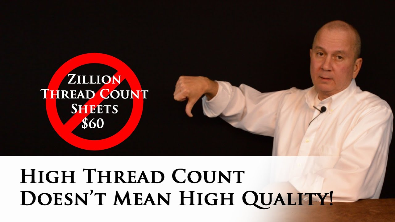 High thread count bed sheets - High Thread Count Doesn T Mean High Quality Bed Sheets