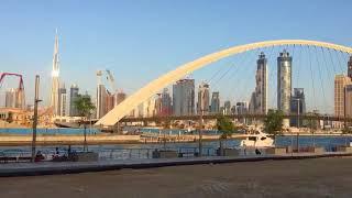 Дубай. Два моста.