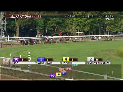 West Coast - 2017 Travers Stakes en Espanol