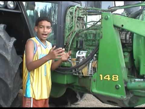 Amexem Technologies HHO Tractor Install Central Louisiana