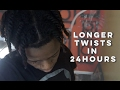 Download mp3 HOW TO: Stretch Your Natural Hair! | Longer Twists in 24 Hours! for free