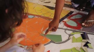 New Mosaic Murals in Oak Park
