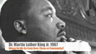 Martin Luther King Jr. Where do we go from here
