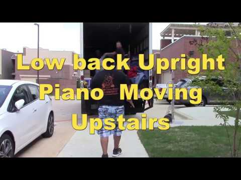 How To Move a Piano to The Second Floor Apartment in Highland Village | Rescue Movers