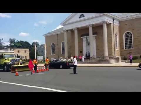 JCPD Detective Mervin Santiago Funeral Procession