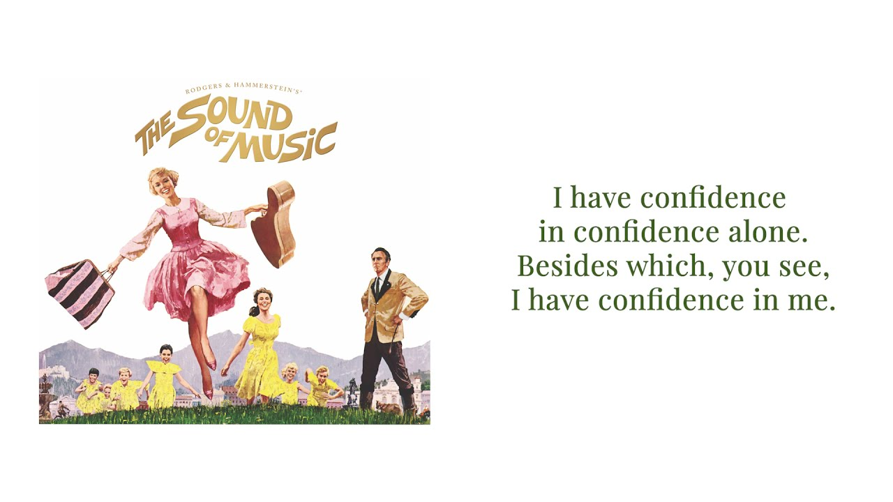 Download I Have Confidence   From THE SOUND OF MUSIC