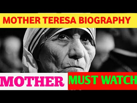 biosketch of mother teresa
