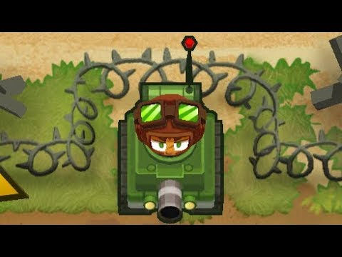 Bloons Tower Defense 6 NEW UPDATE 2 0 - New Hero Captain Churchill VS 1  B A D
