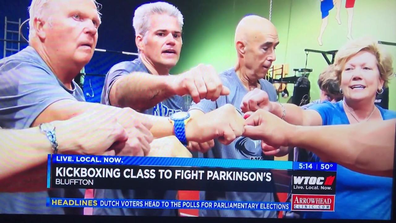 RipTide MMA/Rock Steady Boxing Hilton Head SC on WTOC Savannah News