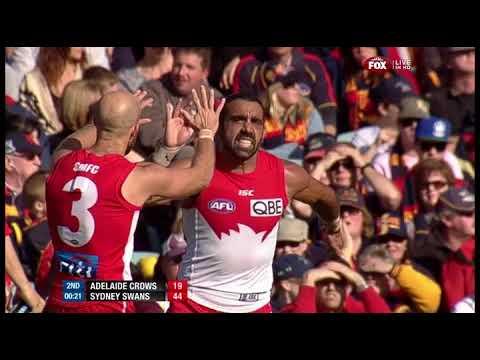 A GOODES 3 VOTES - Adam Goodes Sydney Swans Legend Highlights Compilation