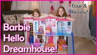 Barbie House Hello Dream House Tour! Smart Barbie Doll Dream House