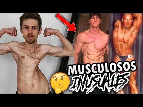 Los 5 Musculosos más Inusuales del mundo   OzielCarmo