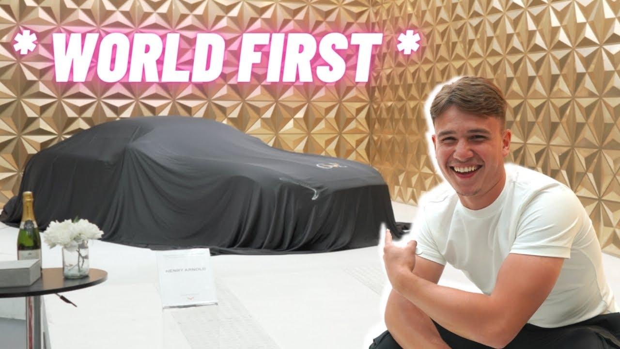 MY NEW CUSTOM SUPERCAR - 1 OF 1 * WORLD FIRST *