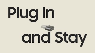 Samsung USB Flash Drive FIT Plus : Plug in and stay