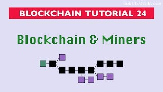Blockchain tutorial 24: Blockchain and miners