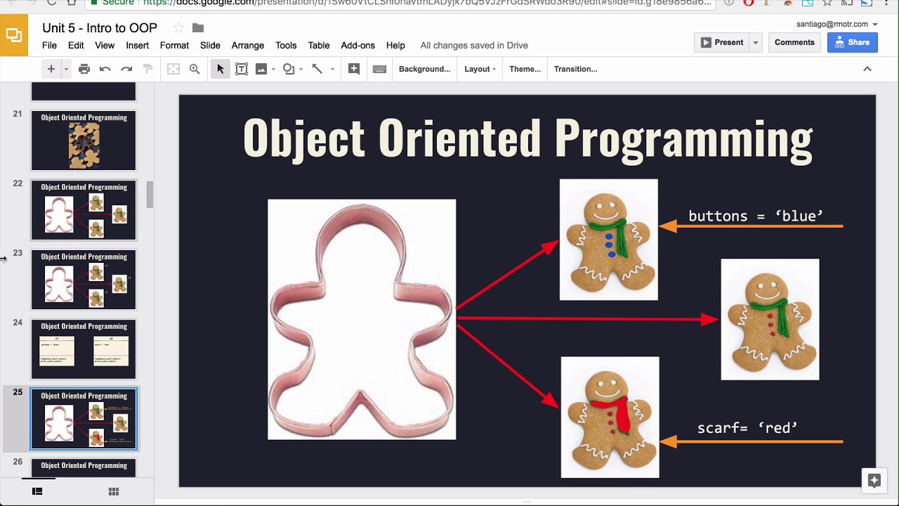 Classes and Objects Lesson - Base Python Track