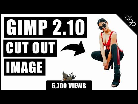 Cut out image using GIMP 2.10 - GIMP Remove Background Tutorial thumbnail