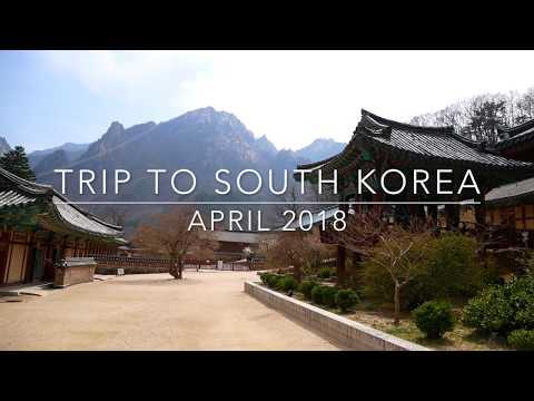 Trip To South Korea - April 2018