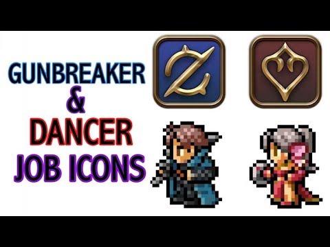 FFXIV: Dancer & Gunbreaker Job Icon Reveal!