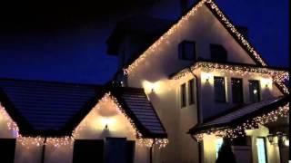 Новогоднее освещение частного дома в  КП Ильинка спорт(, 2015-10-09T10:40:13.000Z)