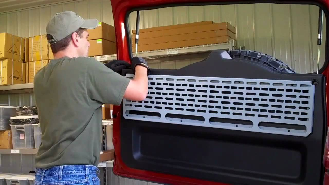 Springtail Mpac Installation Of Fj Cruiser Rear Door Mpac