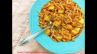 Pasta e Patate  - Pasta and Potatoes -  Rossella's Cooking with Nonna