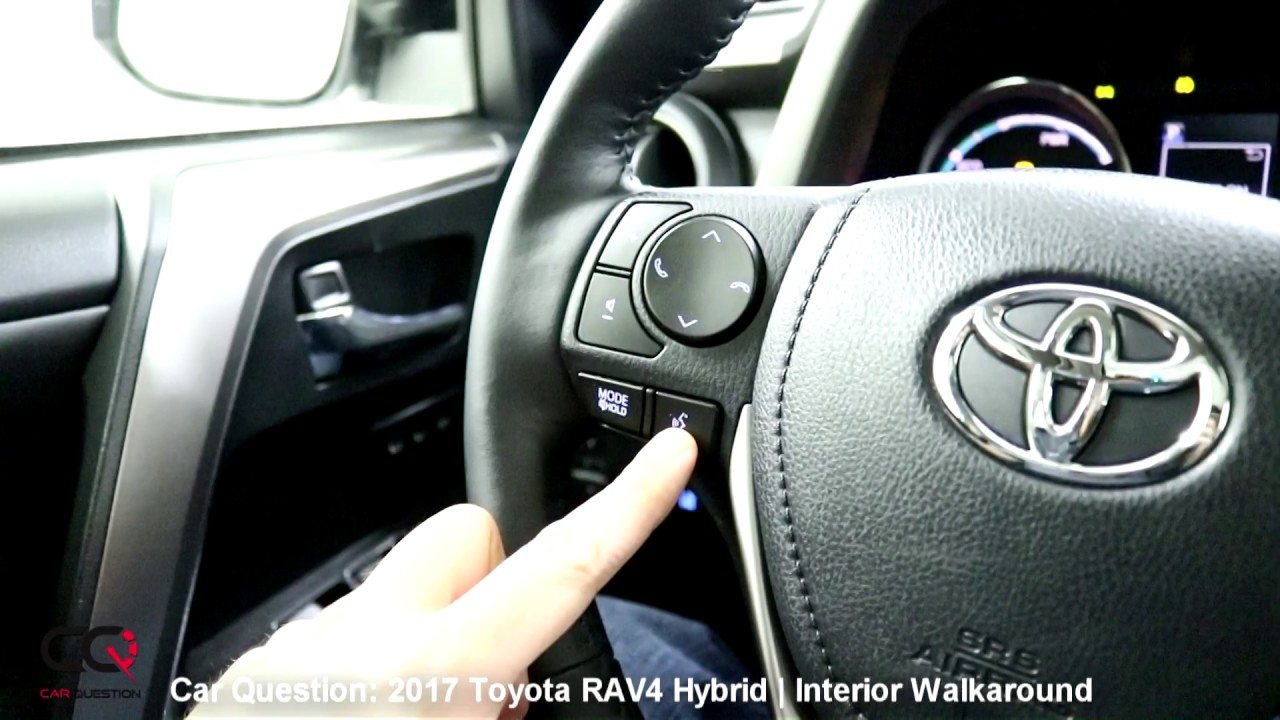 2017 Toyota Rav4 Hybrid Interior Review The Most Complete Review Part 2 8 Youtube