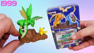Opening 10 Pokemon VS Toys from 1999!