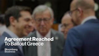 Euro Summit Strikes Bailout Deal to Keep Greece in Euro